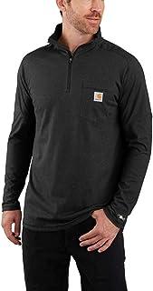 Carhartt Men's Force Relaxed Fit Long Sleeve Quarter Zip Pocket T-Shirt