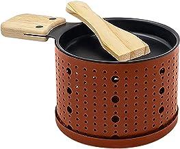 Une raclette à la Bougie Faites Fondre Votre Fromage en 3 Minutes A Table, Devant la télé ou même en Pique Nique Spatule B...