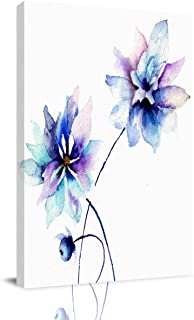 Infinidesign Watercolor Flower Canvas Wall Art for Home Decoration, Modern Paintings Picture Decorative Artwork for Living...