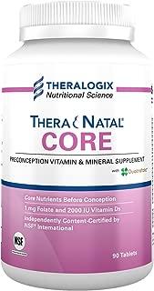 TheraNatal Core Preconception Vitamin & Mineral Supplement (90 Day Supply)