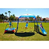 IRON KIDS Premier 100 Fitness Playground Blue