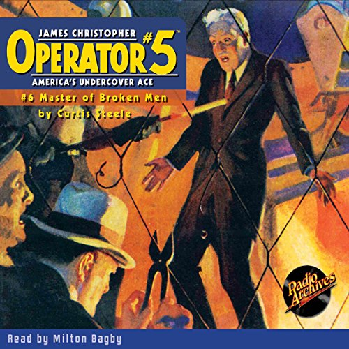 Couverture de Operator #5 #6 September 1934