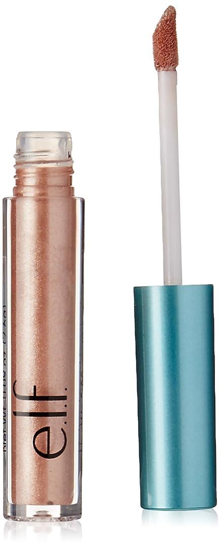匹敵します鉛混合e.l.f. Aqua Beauty Molten Liquid Eyeshadow - Rose Gold (並行輸入品)