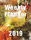Weekly Planner 2019: Forest Planner|Agenda|To Do|Notes|8.5 x 11