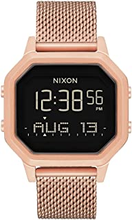 Nixon Siren Milanese Womens Watch One Size All Rose Gold