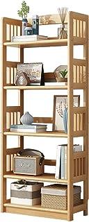 DAPAO Étagère de rangement en bois massif pour salon, chambre, cuisine, bureau, décoration d'intérieur moderne