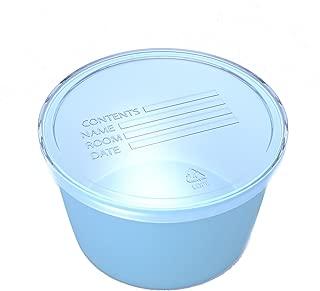 Dynarex Plastic Denture & Retainer Baths - Blue - 8 oz Container Cup - 250 Count