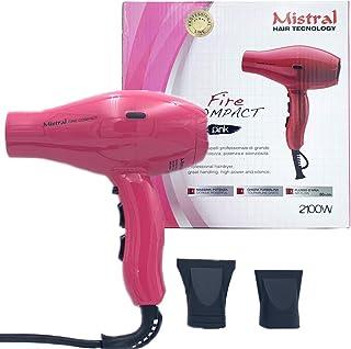 Mistral - Secador de pelo Fire Compact Pink Phon compacto 2100 W rosa