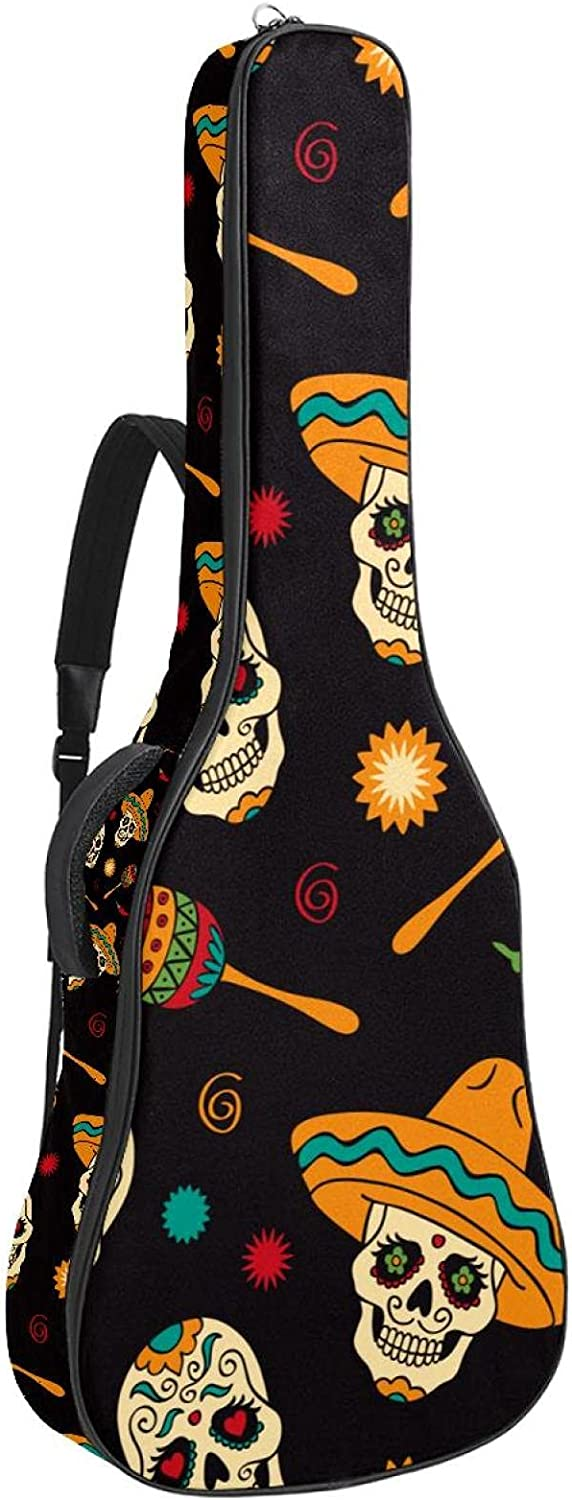 Minneapolis Mall Electric Guitar Bag Padded Acoustic Adjustable Special price Sh Gig
