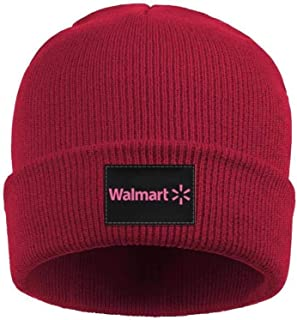 HYMANWASQHFT:Fashion Slouch Walmart-Pink-Breast-Cancer-Logo- Beanie Skull Hats Fits Under HelmetsCAP