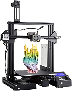 3 idea Imagine Create Print 3IDEA Creality Ender 3 Pro 3D Printer with Removable Build Surface Plate and UL Certified Powe...