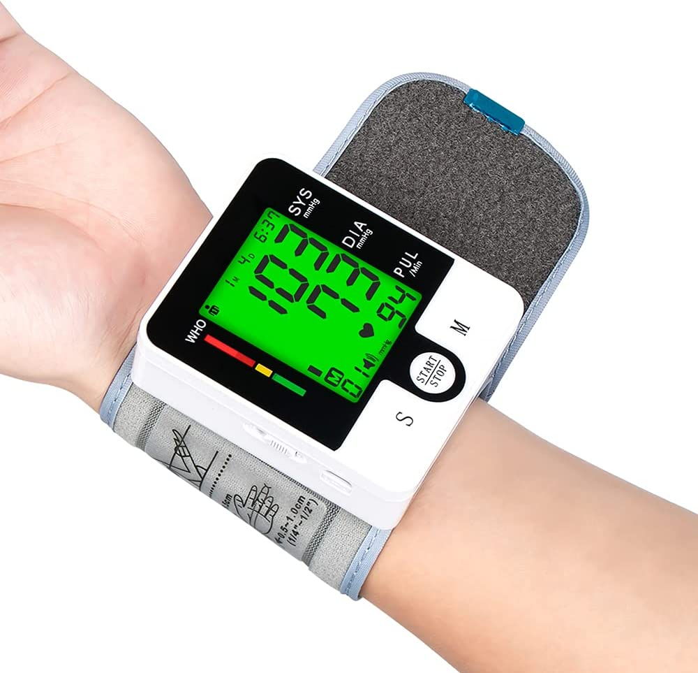 Blood Pressure Sales for sale Monitor Wrist Automatic Large Tulsa Mall Backlit Sc Display