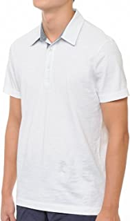 Yuro-K Premium Cotton Slub Jersey Short Sleeve Men's Polo T-Shirt with Side Slit Small - XX