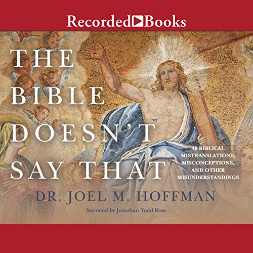 The Bible Doesn't Say That audiobook cover art