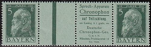 Goldhahn Bayern WZ 1.10 postfrisch  Briefmarken für Sammler br