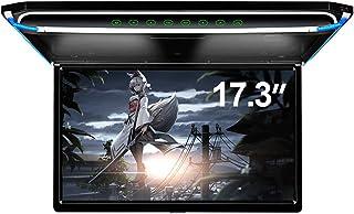 "17.3"" Car Overhead Flip Down Monitor Screen Dispaly 1080P Video HD Digital TFT Screen Wide Screen Ultra-Thin Mounted Car R..."