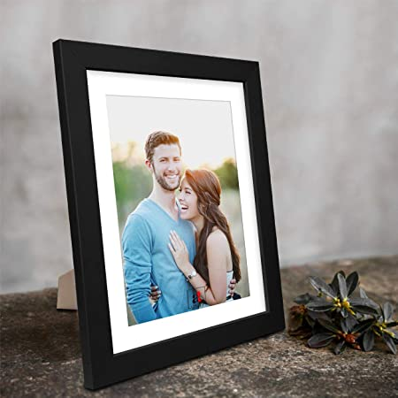 """Art Street Synthetic Table/Wall Photo Frame for Home Decor (8"""" X 10"""", Black)"""