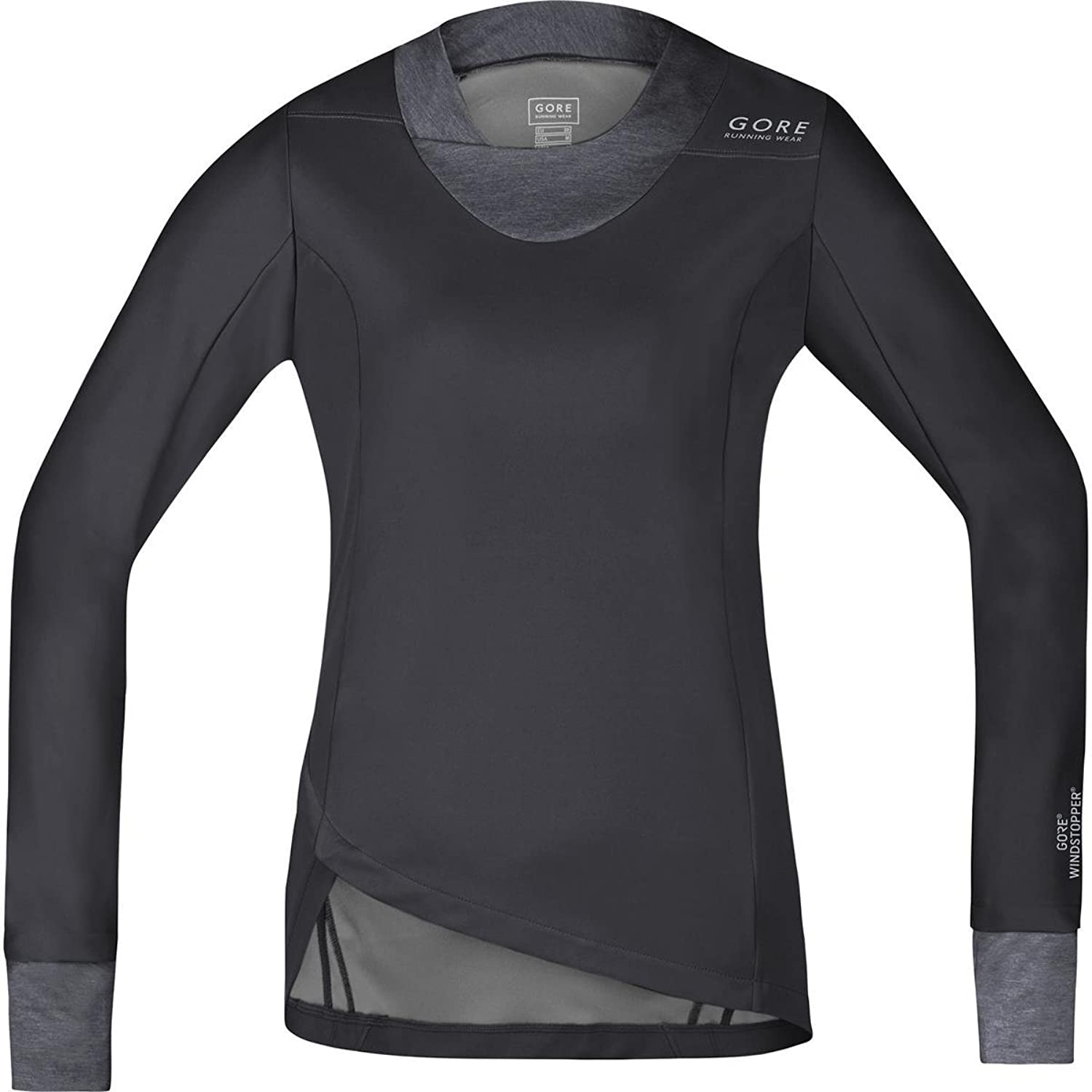 Gore Sunlight Lady Windstopper Soft Shell Long Sleeve Running Top  Small