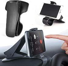 Eroihe Soporte para Teléfono Móvil de Coche Soporte de Montaje de Abrazadera de Teléfono GPS