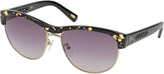 Loewe - SLW844M59L510 Gafas de sol, Black/Gold/Crystal, 59 para Mujer