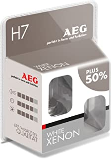AEG Automotive 97264 Glühlampe White Xenon H7, 55 W, 2 er Set