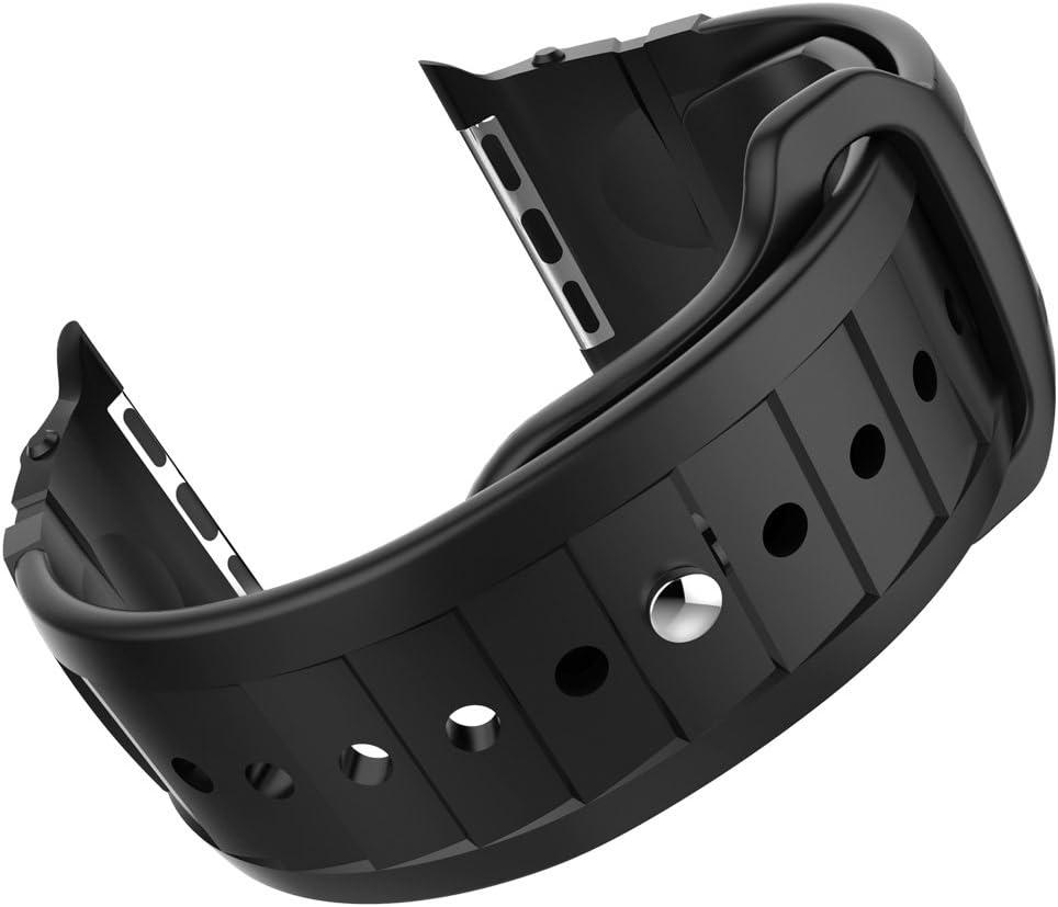 Spigen Rugged Band Apple Watch Band for Apple Watch Series 3/Series 2/Series 1/42mm – Black