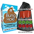 Bung Hole Toss - Cornhole for The Beach, Beach Game for Kids, Adults, Family, Outdoor Game, Backyard Game, Lake Game! Gag Gift Stocking Stuffer by Club Clean