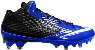 Nike Vapor Speed 3/4 TD Royal Blue-Black Men's Football Cleats 15 US