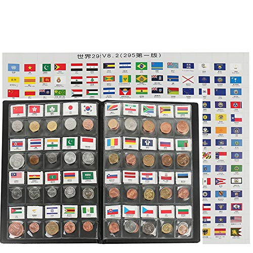 zcccom Classic Gifts 60 Countries Coins Collection Starter Kit Authentic Coins 100% Original Genuine World Coin with…