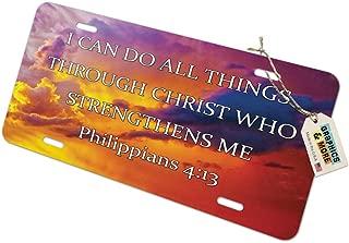 christian license plates