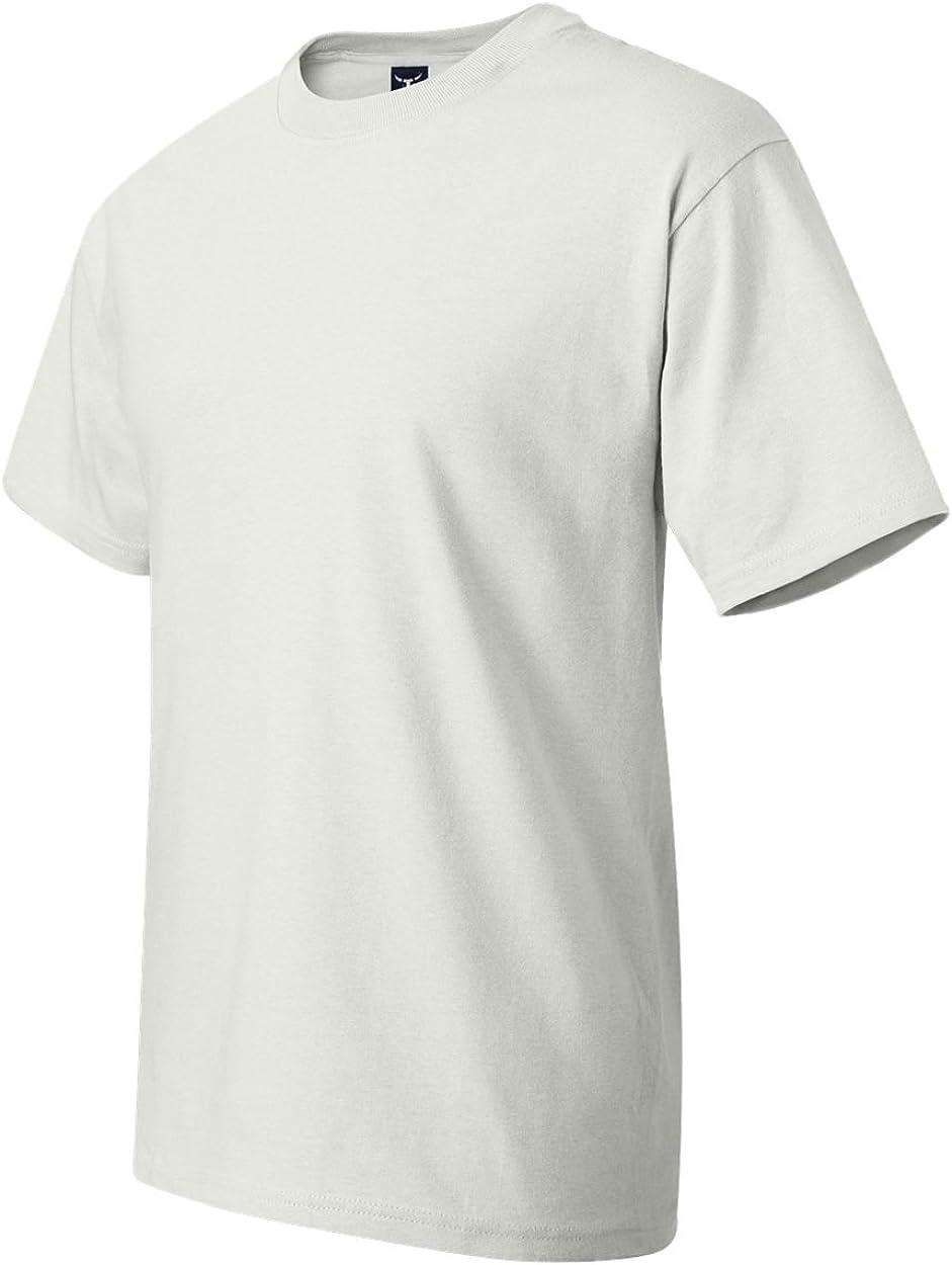 Hanes Beefy-T Men`s Tall T-Shirt White