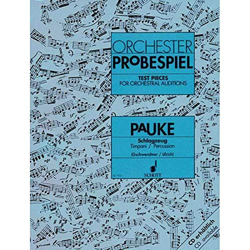 ORCHESTER PROBESPIEL (TIMBAL)