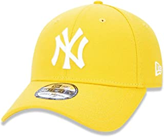 BONE NEW ERA 39THIRTY NEW YORK YANKEES MLB ABA CURVA FECHADO AMARELO
