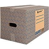 packer PRO Pack 20 Cajas Carton para Mudanzas y Almacenaje con Asas...