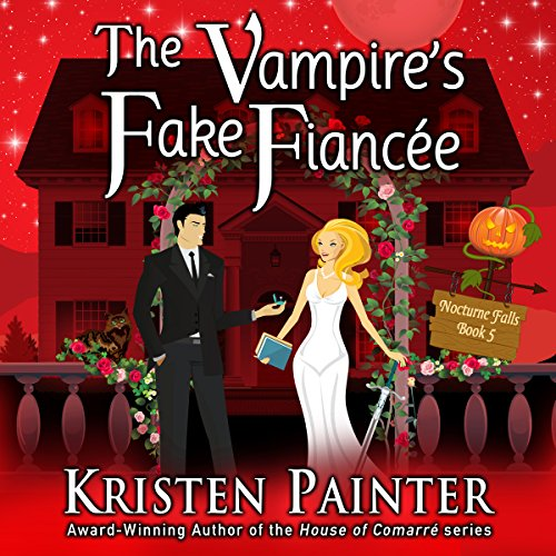 The Vampire's Fake Fiancée audiobook cover art