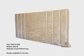 Copri Testata Letto Protezione All-inclusive In Copertura Antipolvere Decorazione Per Camera Da Letto Antigraffio Cover In Cotone Stile Europeo Soft Cover Lavabile,Pink-190 65cm