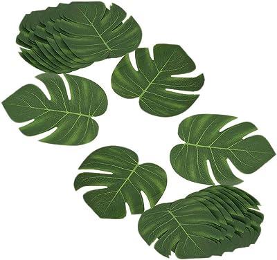 NAHUAA 4pcs Feuilles d/érable Artificielles Dor/ées Plante Artificielle en Tissu 5 Branches pour Ext/érieur Int/érieur D/écoration Mariage No/ël Jardin Maison
