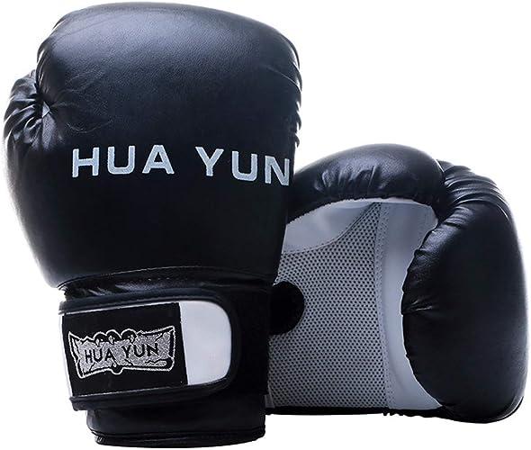 HOUYAZHAN Gants de Boxe Sparbague Punch sac Muay Thai Fighting Gants de Boxe Formation Arts Martiaux Taekwondo