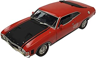 Diecast Model Ford Falcon XA GT 2 Door Hard Top Red Pepper Die Cast Car 1:32 Scale By Oz Legends Genuine Licensed Limited ...