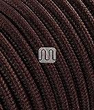 merlotti 20309Elektrische Kabel rund H03VV 2x 0,75, braun, 3m