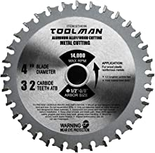 Lion Tools STH036 Toolman Premium Multifunctional Carbide-Tipped Circular Saw Blade Universal Fit 4