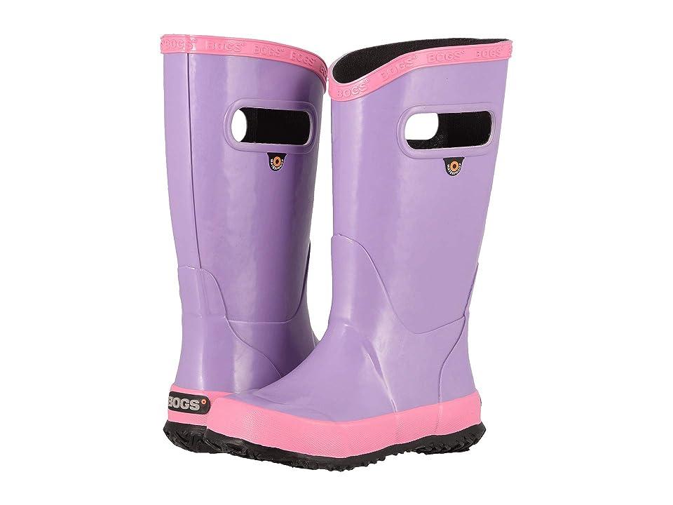Bogs Kids Rainboot Solid (Toddler/Little Kid/Big Kid) (Violet Multi) Kids Shoes