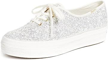 Keds Women's Kate Spade Triple Glitter Sneaker
