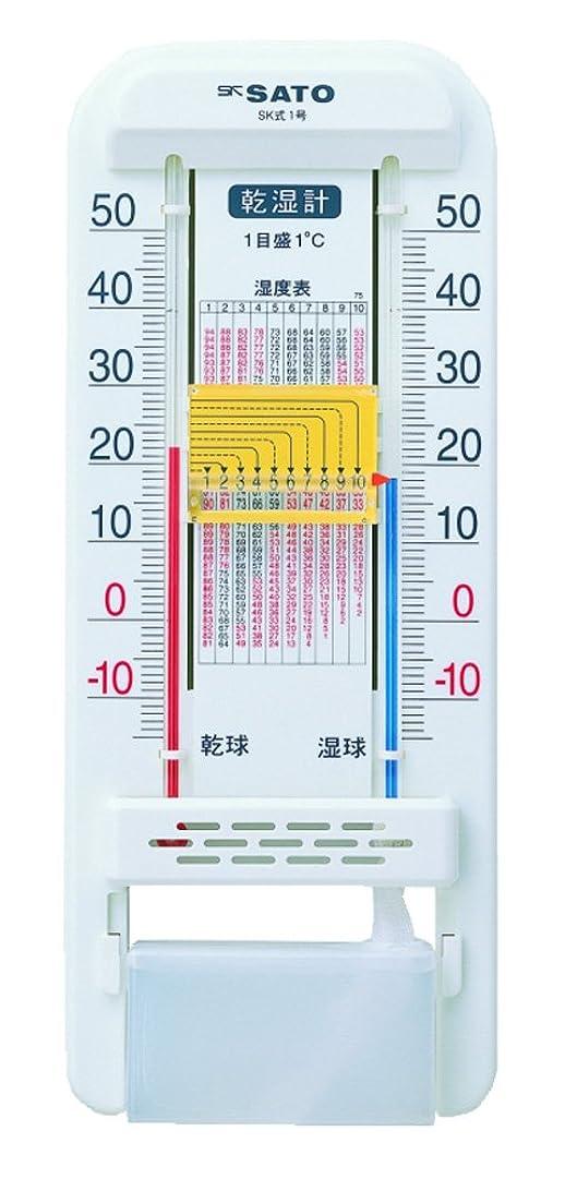 予想外比較的ピクニックSATO 乾湿計 SK式 1号