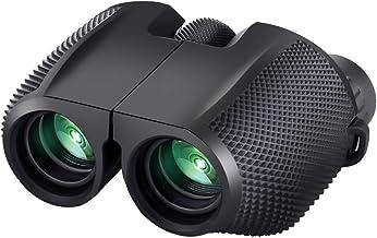 Timotech Binoculares Prismáticos 10x25 Zoom BAK4 con