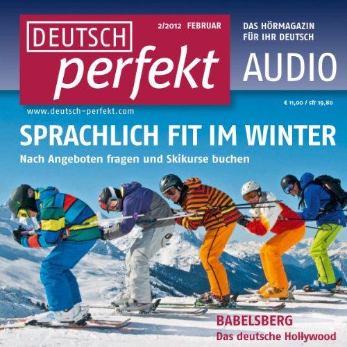 Deutsch perfekt Audio. 2/2012 Titelbild