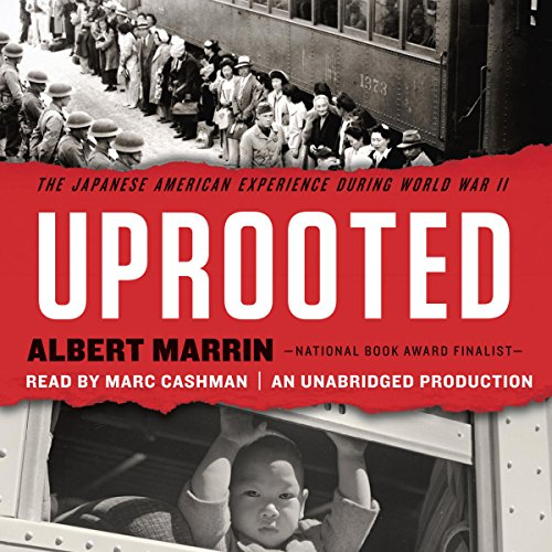 Uprooted audiobook cover art