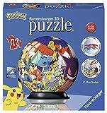 Ravensburger 11785 - Puzle 3D Ball 72P - Pokémon