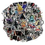 Sanmatic Autocollant Lot Pack [100 pcs], Star Wars Stickers Autocollants Vinyle pour...
