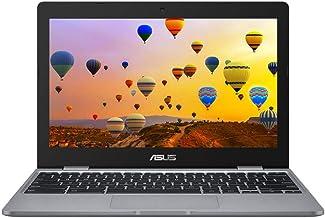 ASUS Chromebook C223NA (Gris) (Intel Celeron N3350, 4 GB de RAM, 32 GB eMMC, 11.6 Pulgadas de Alta definición de Pantalla,...